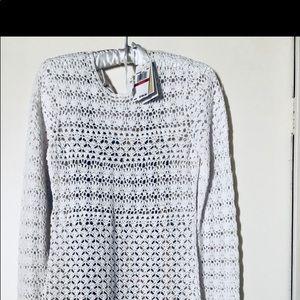 Michael Kors - white crochet dress